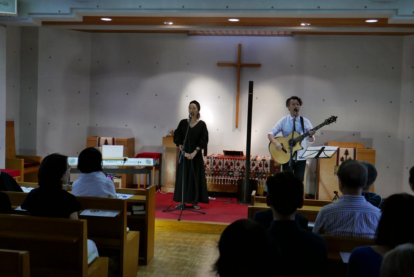 ゴスペルコンサートが開催されました。